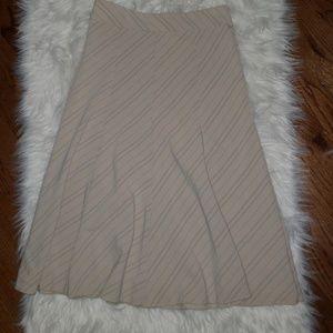 A-Line mid-length skirt